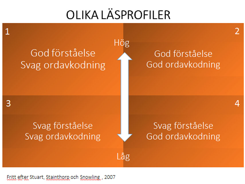 Läsprofiler